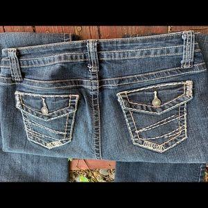 A.N.A 10P stretch jean washed indigo